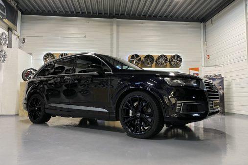 Audi Q7 22 inch GMP gunner zwart