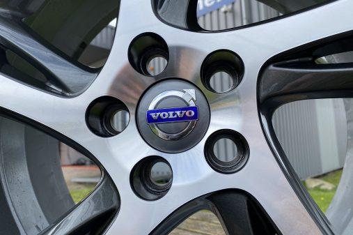 Volvo velg CNC kleur hersteld, CNC gedraaid, 2 lagen blanke lak. (7)